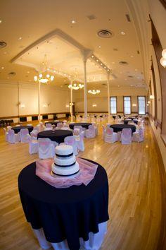 Wedding cake in Provo City Library Ballroom. #wedding, #weddingcake, #ballrooom, #provolibrary
