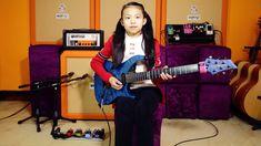 A 10 year old girl YOYO(Pinxi Liu)Cover Fuzz Universe-Paul Gilbert