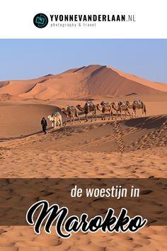 """De Sahara woestijn in Marokko bezoeken is één van de meest magische dingen die je in het land kunt doen. In Rissani en de omgeving daarvan kun je alvast van de woestijn """"proeven"""". Pas in Merzouga heb je dat echte Sahara gevoel, met de imposante Ergs, oftewel gigantische en eindeloze zandduinen. #Marokko #woestijn"""