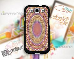 Optical Illusions case - Print On Hard Case Samsung Galaxy S3 i9300
