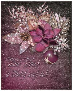 Vánoční přání třpyt a animace 1 | vánoční blog Christmas Wreaths, Christmas Bulbs, Blog, Holiday Decor, Home Decor, Link, Christmas Garlands, Homemade Home Decor, Holiday Burlap Wreath