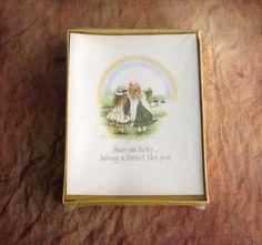 "Rare Vintage Holly Hobbie Print American Greetings Scrapbook Framing 8/""x10"" New"