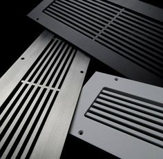 Linear bar grilles constructed from 11 gauge steel, inch thick. Return vent has inch lip; install by dropping into floor opening.