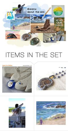 The Shoe must go on - dreams about the sea :) by owlartshop on Polyvore featuring sanat and integrityTT