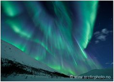 Amazing picture of the aurora borealis by Bjørn Jørgensen.