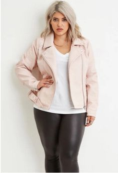 How to wear Pantone's 2016 colors of the year in plus-size fashion #rosequartz