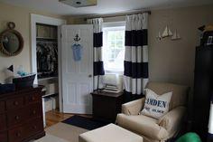 Project Nursery - Boy Nautical Nursery Room View