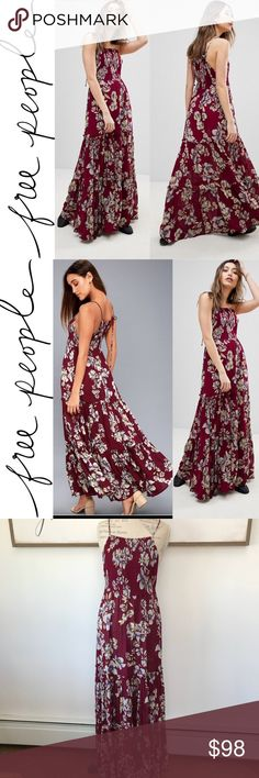 d912908f8ad NWT Free People Garden Party Maxi New with tags. Free People Garden Party  Maxi.