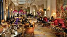Four Seasons Hotel George V Paris offers an array of fine dining options including Le George, L'Orangerie, the Michelin-starred Le Cinq and two lounges.
