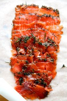 Gravlax... Some swedish salmon