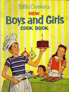 Retro cooking. I had this book as a kid - handed down from Dad's 4-H cooking days.