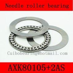 80X105X4mm AXK80105+2AS thrust needle roller bearing AXK80105TN just for sales volume #Affiliate