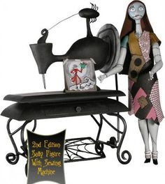 Sally action figure, with sewing machine from our Nightmare Before ...