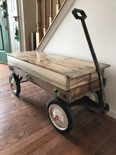 Newest Addition To The Shop, A Repurposed Radio Flyer Wagon Coffee Table. |  Repurposed | Pinterest | Radio Flyer Wagons, Radio Flyer And Repurposed