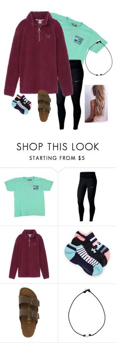 """~ so take this heart lord, i'll be your vessel ~"" by southern-preppster on Polyvore featuring But Another Innocent Tale, NIKE, Victoria's Secret, Under Armour and Birkenstock"