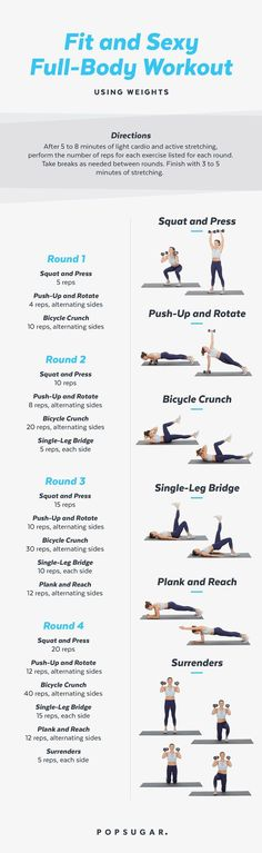 Strong, Toned, and Fit Full-Body Workout