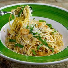 Garlic and Lemon Spaghetti Recipe