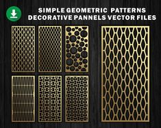 6 Natural Texture for laser / plasma / CNC for decorative partitions panel screen. File good quality tested at machine cnc. Geometric Patterns, Simple Geometric Pattern, Abstract Pattern, Wood Panel Walls, Panel Wall Art, Wood Paneling, Wood Wall, Autocad, Cnc Cutting Design