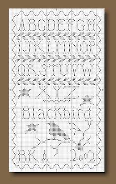 Blackbird Sampler - Blackbird Designs