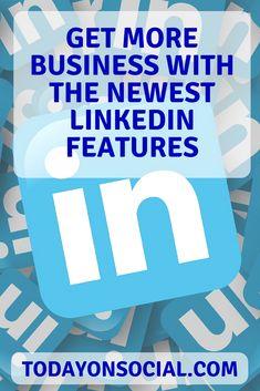 cool Get more business and make more money on social media using your LinkedIn profil. Inbound Marketing, Content Marketing, Social Media Marketing, Digital Marketing, Mobile Marketing, Marketing Strategies, Linkedin Help, Online Shops, Corporate
