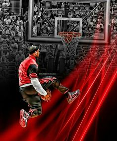 Air time LeBron James