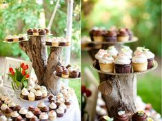 Eko-dekoracje weselnych stołów