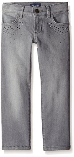 The Childrens Place Big Girls Studded Skinny Jean Granite Wash 10 ** You can find out more details at the link of the image.Note:It is affiliate link to Amazon.