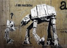 2016 Decoration Pictures 26 Styles Banksy Series for Graffiti Oil Painting On Canvas Street Wall Art Home Decor 50*70cm(China (Mainland))