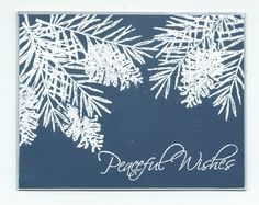 peaceful wishes stampin up - Google Search