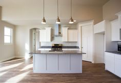 White open kitchen
