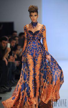 Fouad Sarkis - Alta-Costura - Primavera-Verão 2014 - http://pt.flip-zone.com/fashion/couture-1/independant-designers/fouad-sarkis-4492