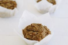 Looking for a hearty and filling breakfast that will satisfy your taste buds? Then try these oat, pumpkin and cinnamon breakfast muffins and start your day off with something great!