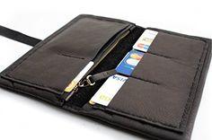 Cartera CRIS, cartera de piel, cartera para mujer de piel negra, color negro, cartera personalizada con iniciales. Cris LEATHER WALLET      ...