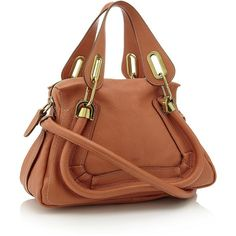 Chloé Small Paraty Tote ($1,520) ❤ liked on Polyvore