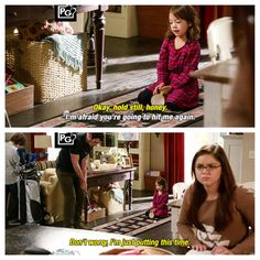 Modern Family - Phil & Lily
