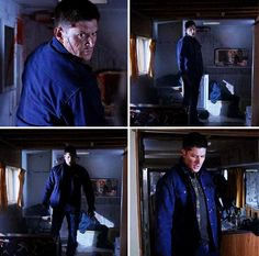Badass Dean never looked more like an unstoppable psychopath than he did here. 10x19 The Werther Project