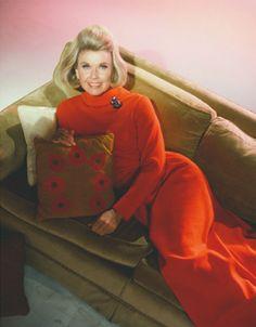"*Louise*  2/11/2014  2:47am  Doris Day: Sleek  Long Red Dress. ""With Six You Get Eggroll"" 1968."