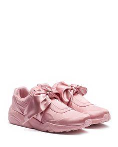 af8a1951e206a FENTY Puma x Rihanna Women s Satin Bow Sneakers Scarpe Con Fiocco