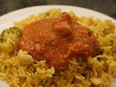 Polskie South Beach: Chicken tikka masala