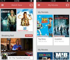 Google Play app arrives on iOS to stream movies and shows overWiFi Please follow us @ http://www.pinterest.com/jeniferkane01/