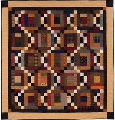 Twist and Turn  From: At Home with Country Quilts  by Cheryl Wall