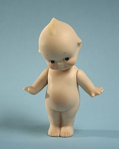 Kewpie doll, that round belly kills me, love it so much