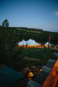 Montana Wedding / Green Door Photography / Tent via @mtpartyrentals