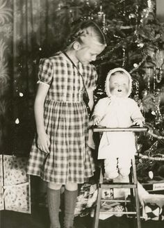 MY DOLLY & ME~Christmas in the 1950's