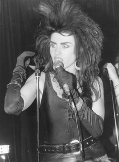 """""""I am pretty dark and twisted,and I have a dark sense of humour, but I also like some bright fluffy things and lots of different styles of music""""- -The March Violets c.1984"""