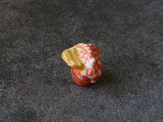 Fève de collection en céramique - Panier de pique nique : Cuisine créative par jl-bijoux-creation