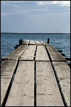 End of quay...../Bouzigues/France by Nells Photography, via Flickr