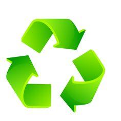 """Logo reciclagem, parte do projeto """"Rociclagem"""""""