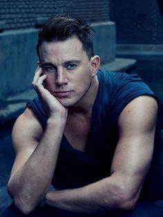 Channing Tatum para Vanity Fair Agosto 2015 por Annie Leibovitz