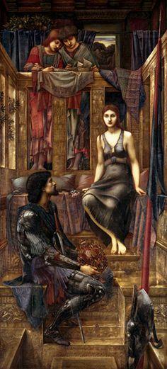 King Cophetua and the Beggar Maid, 1884 Sir Edward Coley Burne-Jones. Tate custom print.